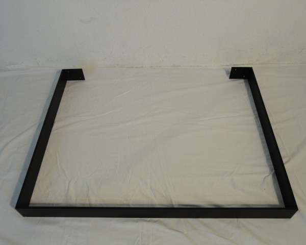 Bordben i jern   u formet sorte bredde 90 cm   woodfactory