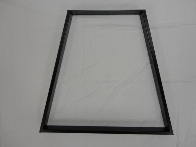 Trapez bordben - Lakeret stål - Model