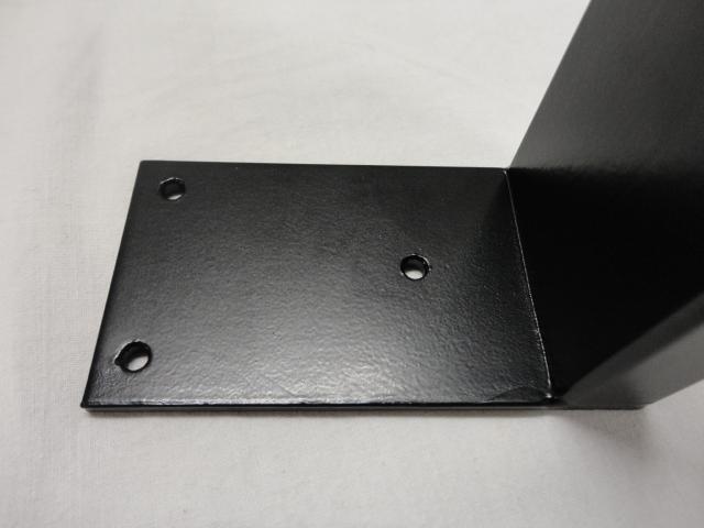 Sofabordben - Model  U-ben  - sort lakeret - 2 STK - woodfactory