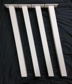 Hvide bordben
